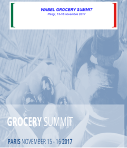 Wabel Grocery Summit 13-16 Novembre 2017