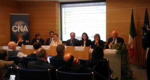 CNA Lombardia inontra alcuni candidati ale europee
