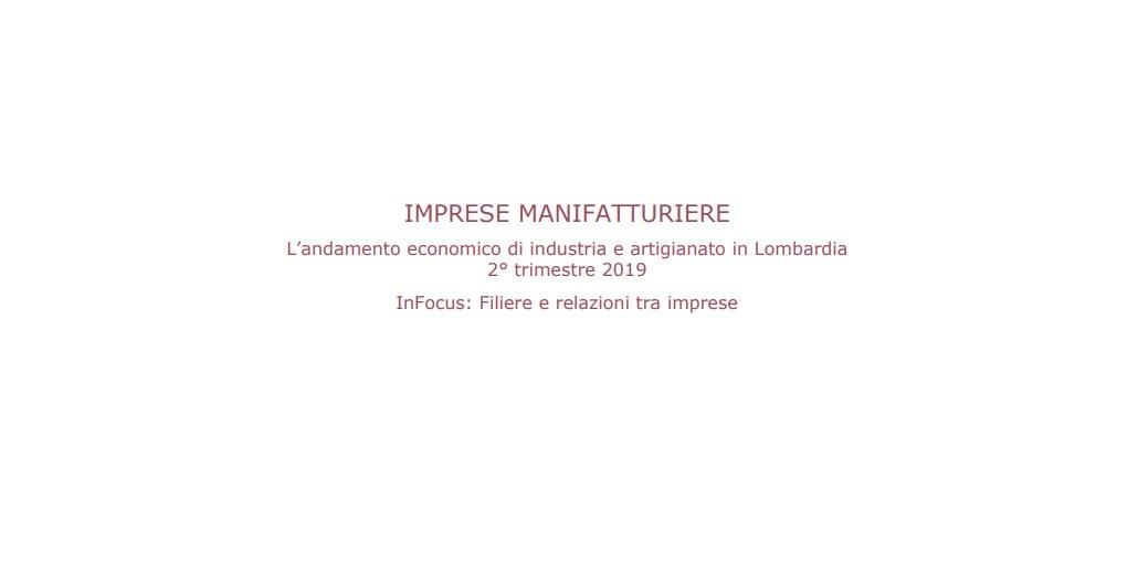 l'andamento economico di industria e artigianato in Lombardia