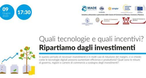 Tecnologie 4.0 e misure per le PMI