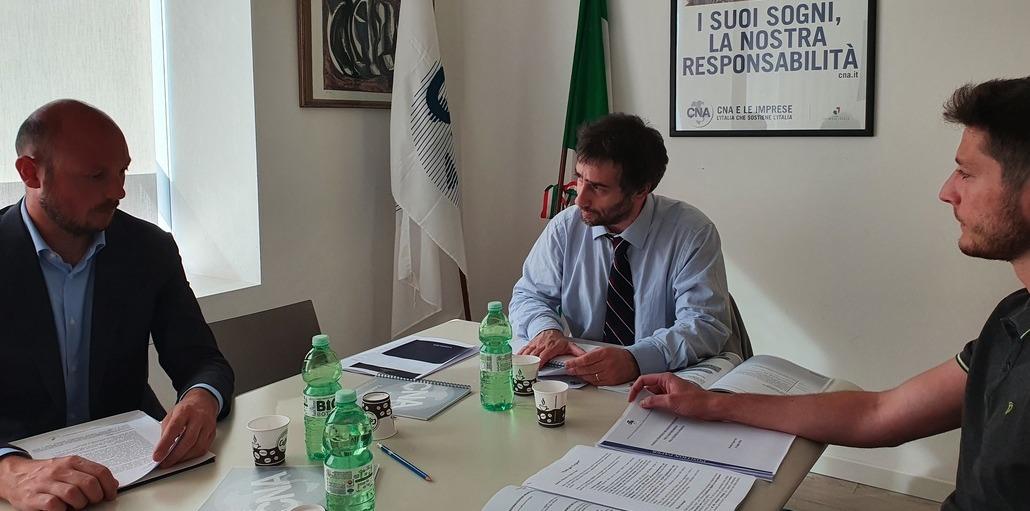 CNA Lombardia incontra Dario Violi del M5S