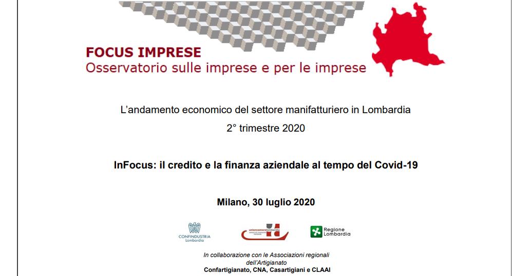 Conferenza Stampa focus imprese 2020