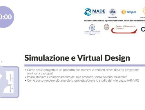 Webinar Simulazione e Virtual Design -DIH CNA Lombardia