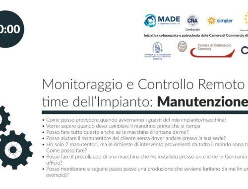 Webinar Manutenzione 4.0