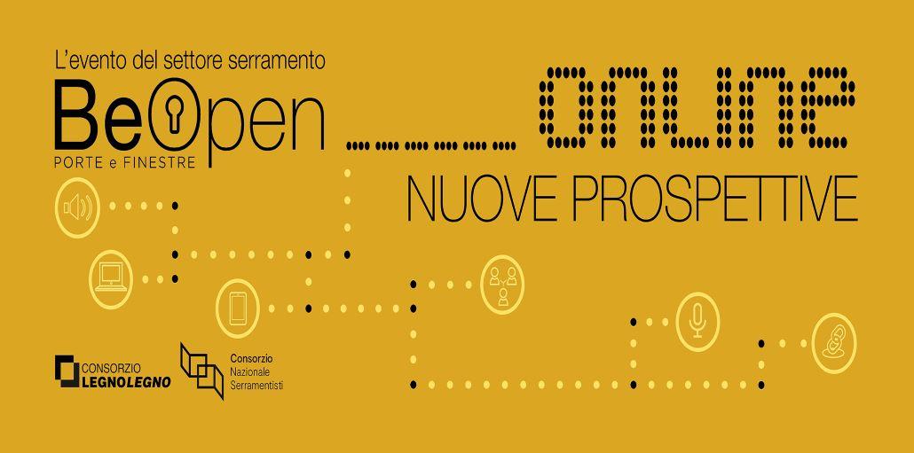 Be open: evento online per serramentisti