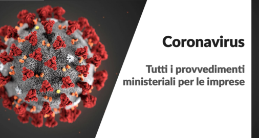 Emergenza Coronavirus_ provvedimenti ministeriali