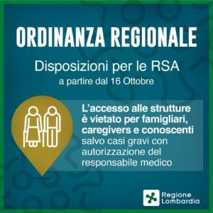 Ordinanza n.619 regione Lombardia