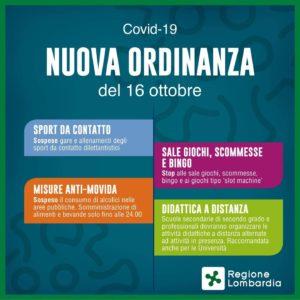 Ordinanza 620 Regione Lombardia