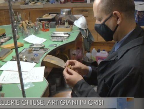 Laboratori orafi in crisi, niente ordini dalle gioiellerie