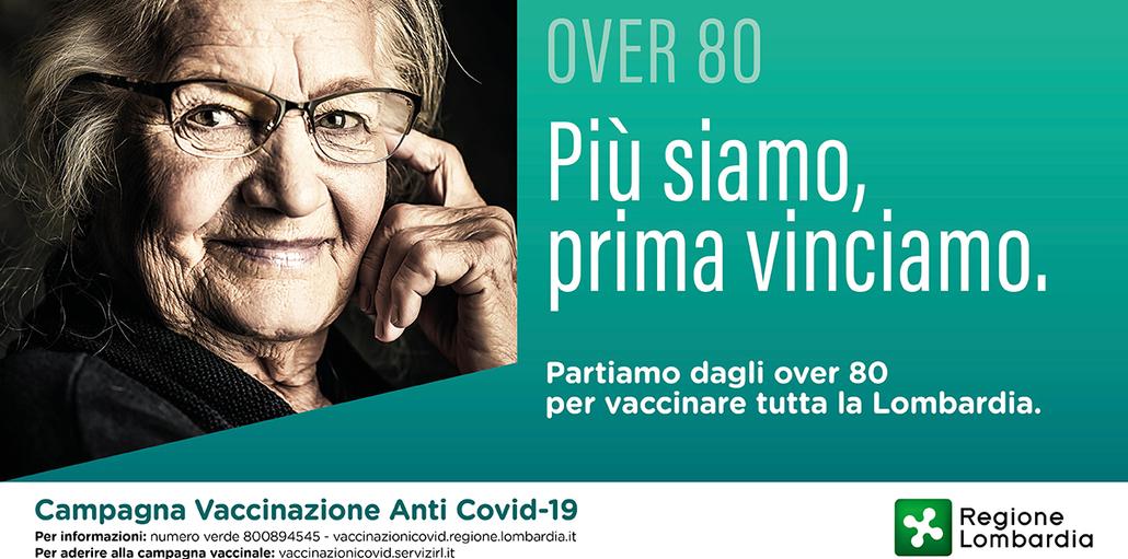 Campagna vaccinale anti-covid 19 over 80