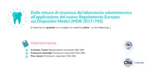webinar regolamento europeo dispositivi medici