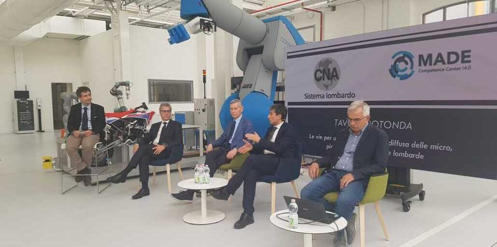 CNA Lombardia, MADE, regione per la digitalizzazione delle PMI